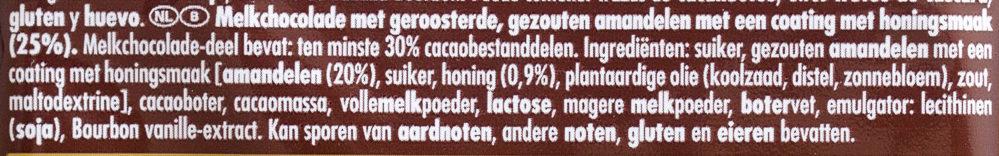 Honig-Salz-Mandel - Ingrediënten