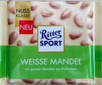 Ritter Sport Weisse Mandel - Product