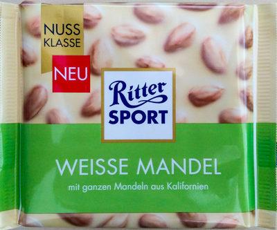 Ritter Sport Weisse Mandel - Produkt