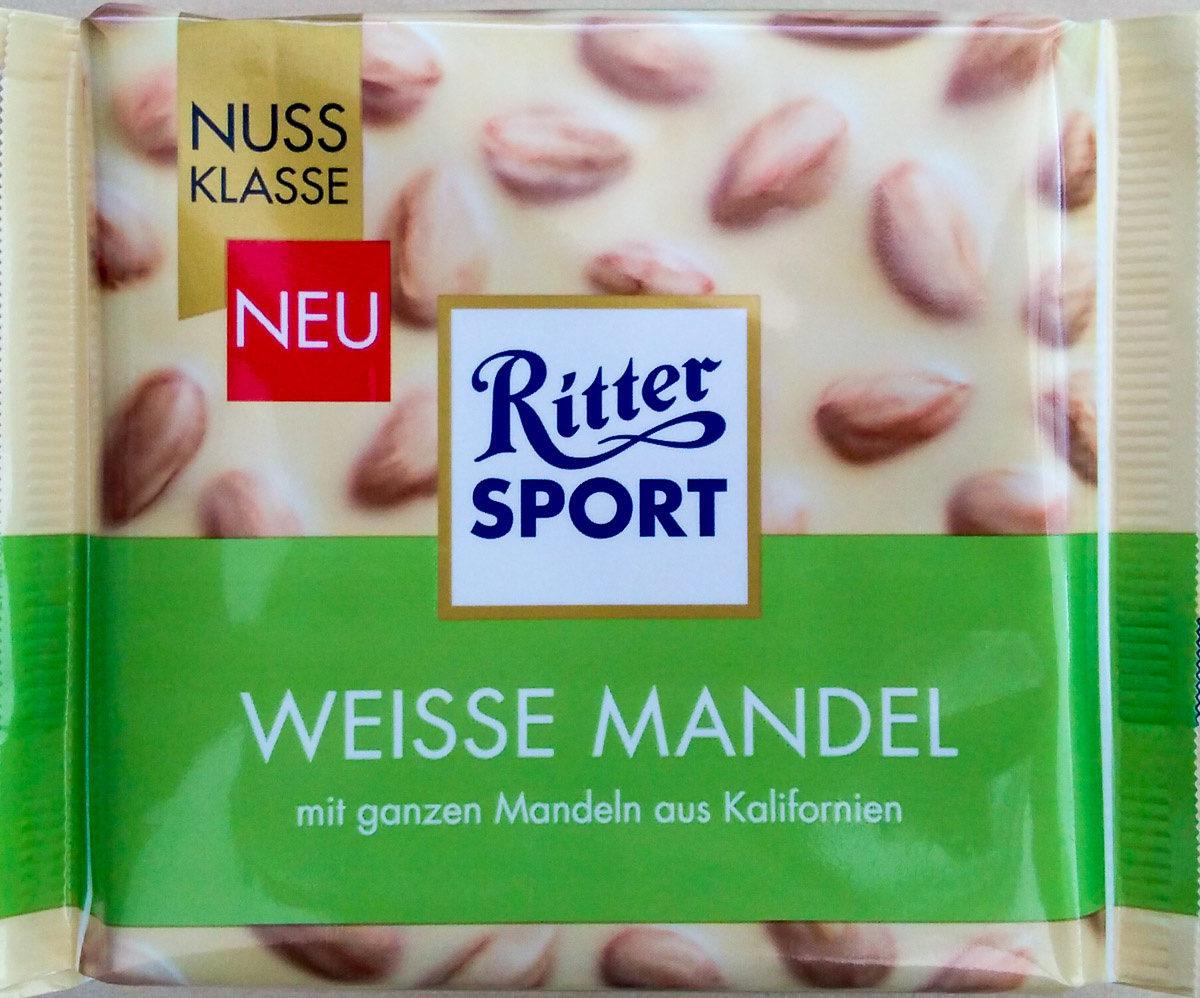 Ritter Sport Weiße Mandel - Produkt