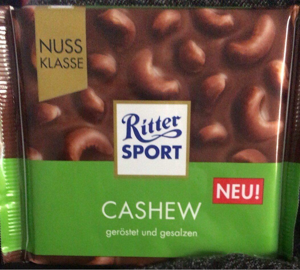 Ritter sport cashew - Produit - de