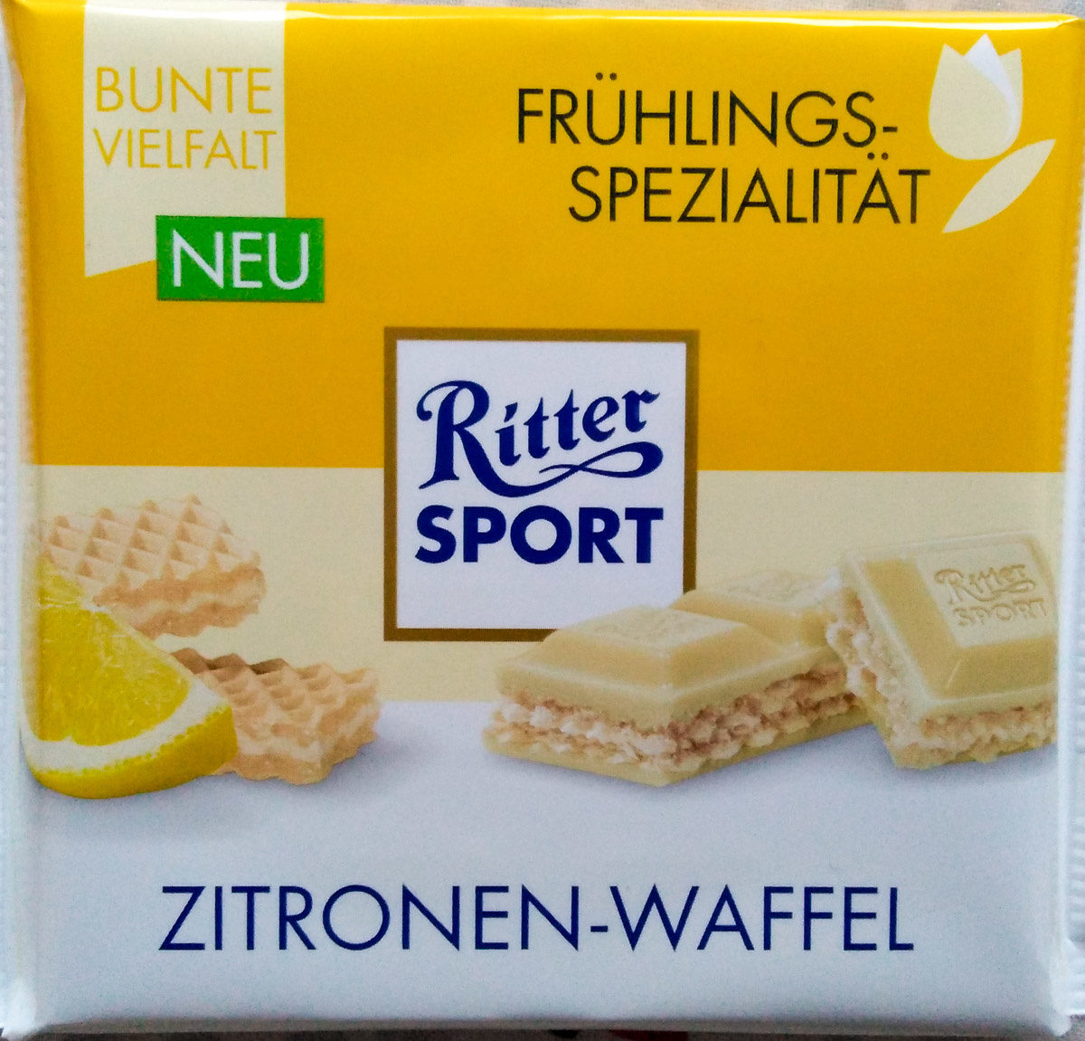Zitronen-Waffel - Product - de