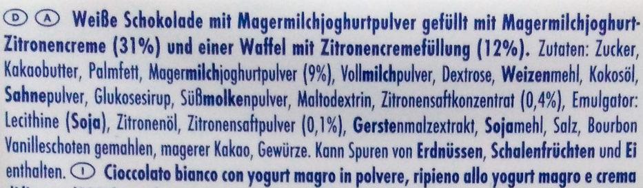 Zitronen-Waffel - Ingrediënten - de