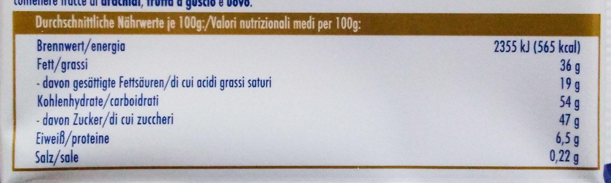 Zitronen-Waffel - Voedingswaarden - de