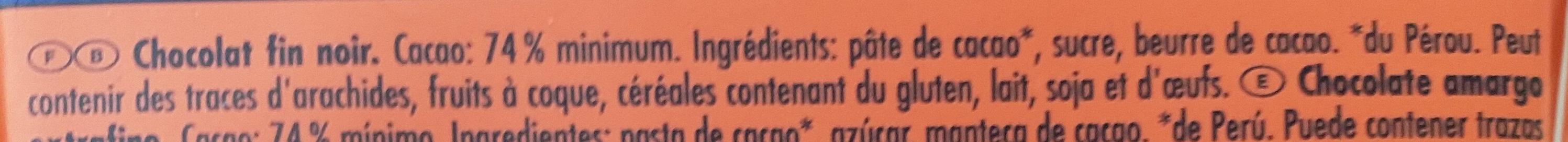 74% Die Kräftige - Ingrédients - fr