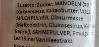 Gemischte Mandeln - Ingrédients - de