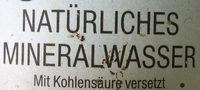 Natürliches Mineralwasser - Ingrediënten - de