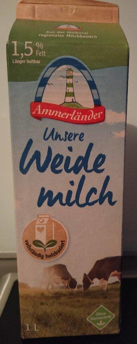 Unsere Weidemilch - Prodotto - de