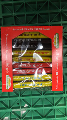 Mestemacher Premium Vollkorn Brotkorb - Prodotto - fr