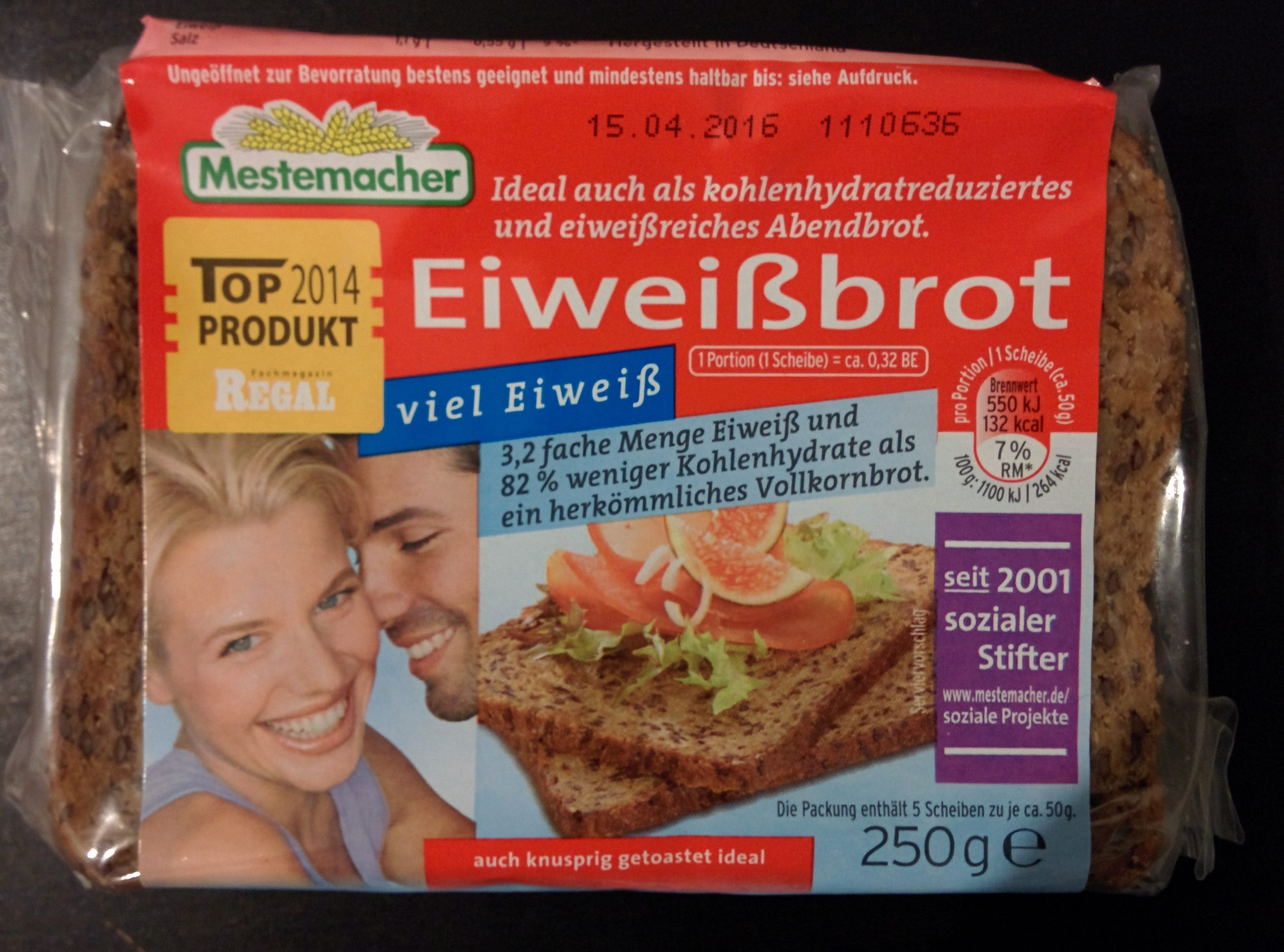 Eiweißbrot - Produit - fr