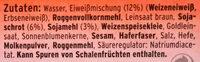 Eiweißbrot - Ingredients - de
