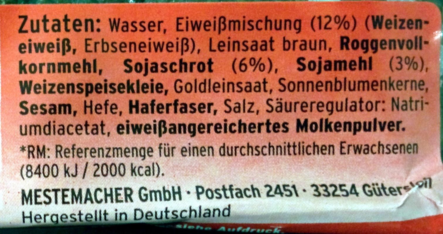 Eiweißbrot - Ingredients
