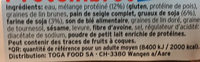 Eiweißbrot - Ingrédients - fr