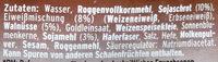 Eiweißbrot - Mestemacher - 250G - Ingredienti - de
