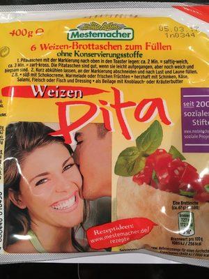 Weizen Pita, 6 Stück - Produit - fr