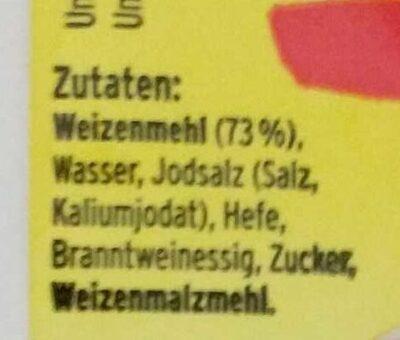 Weizen Pita, 6 Stück - Ingrédients - de