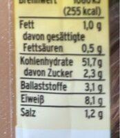 Weizen Pita, 6 Stück - Informations nutritionnelles - de