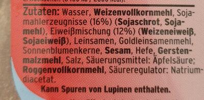 Eiweiss Toastbrötchen - Ingredienti - de