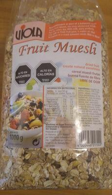 Fruit Muesli - Product - es