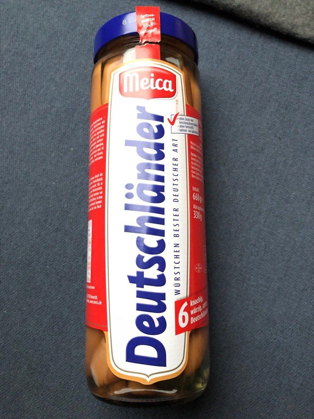 Meica Deutschländer - Produit - de