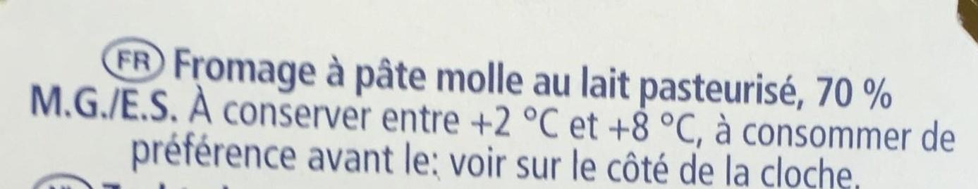 Gold (38% MG) - Ingredients - fr