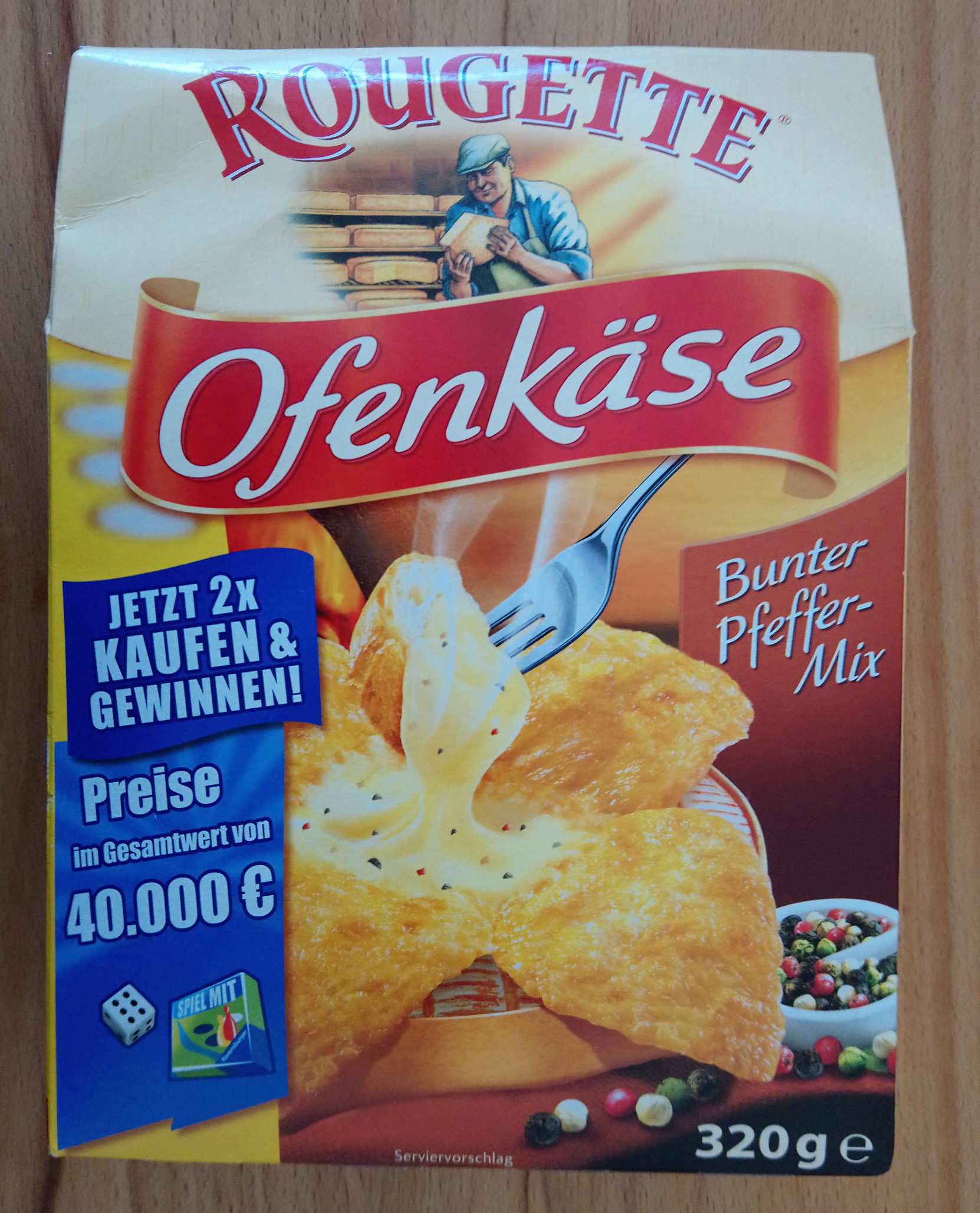 Ofenkäse Bunter Pfeffer-Mix - Product
