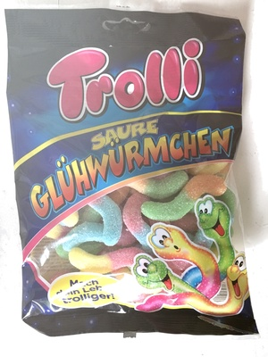 Sour Glowworms - Product - fr