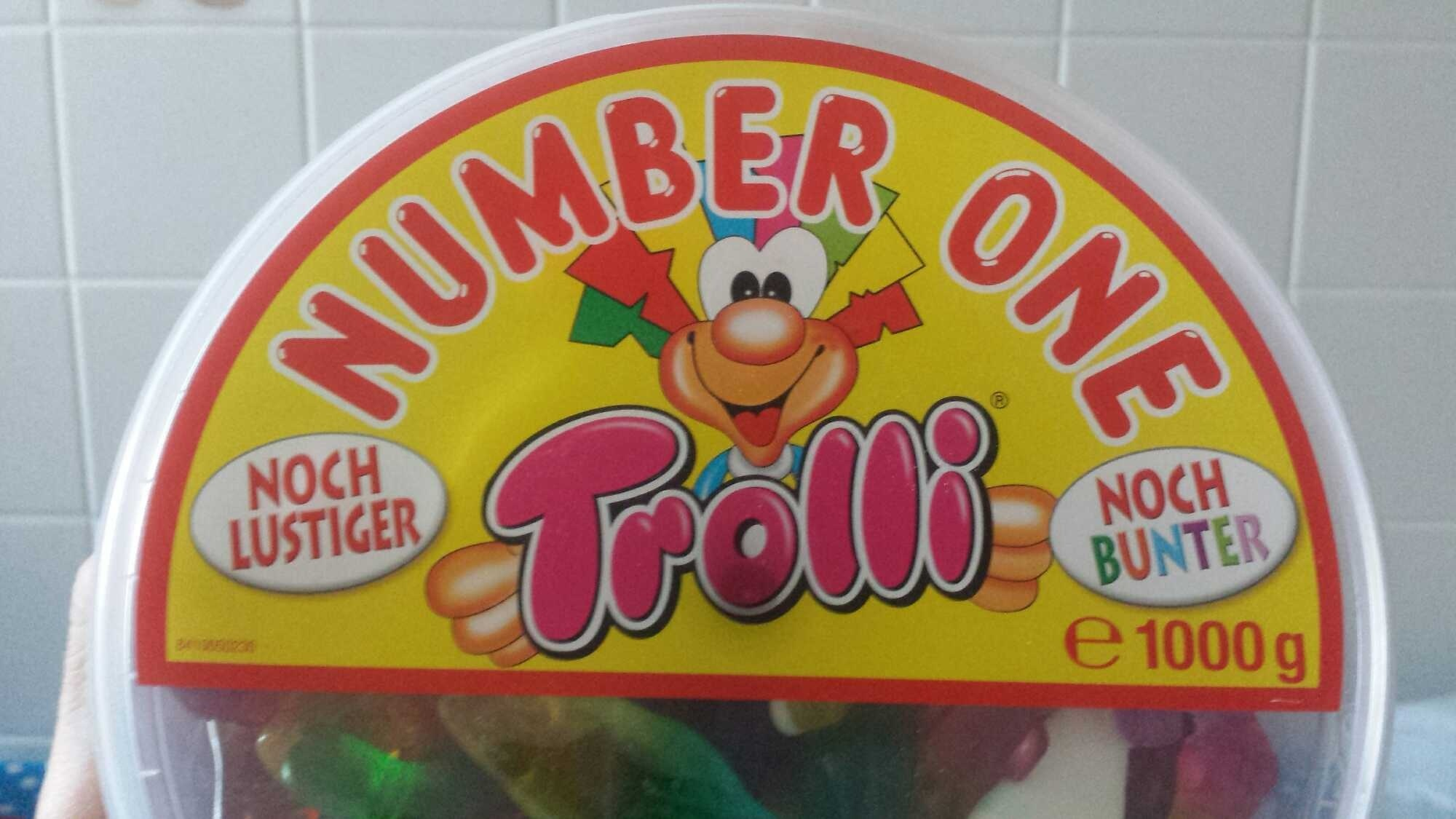 Trolli Number One - Produkt - fr