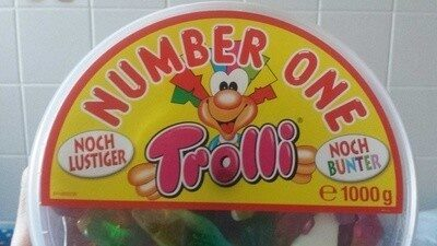 Trolli Number One - Product - fr