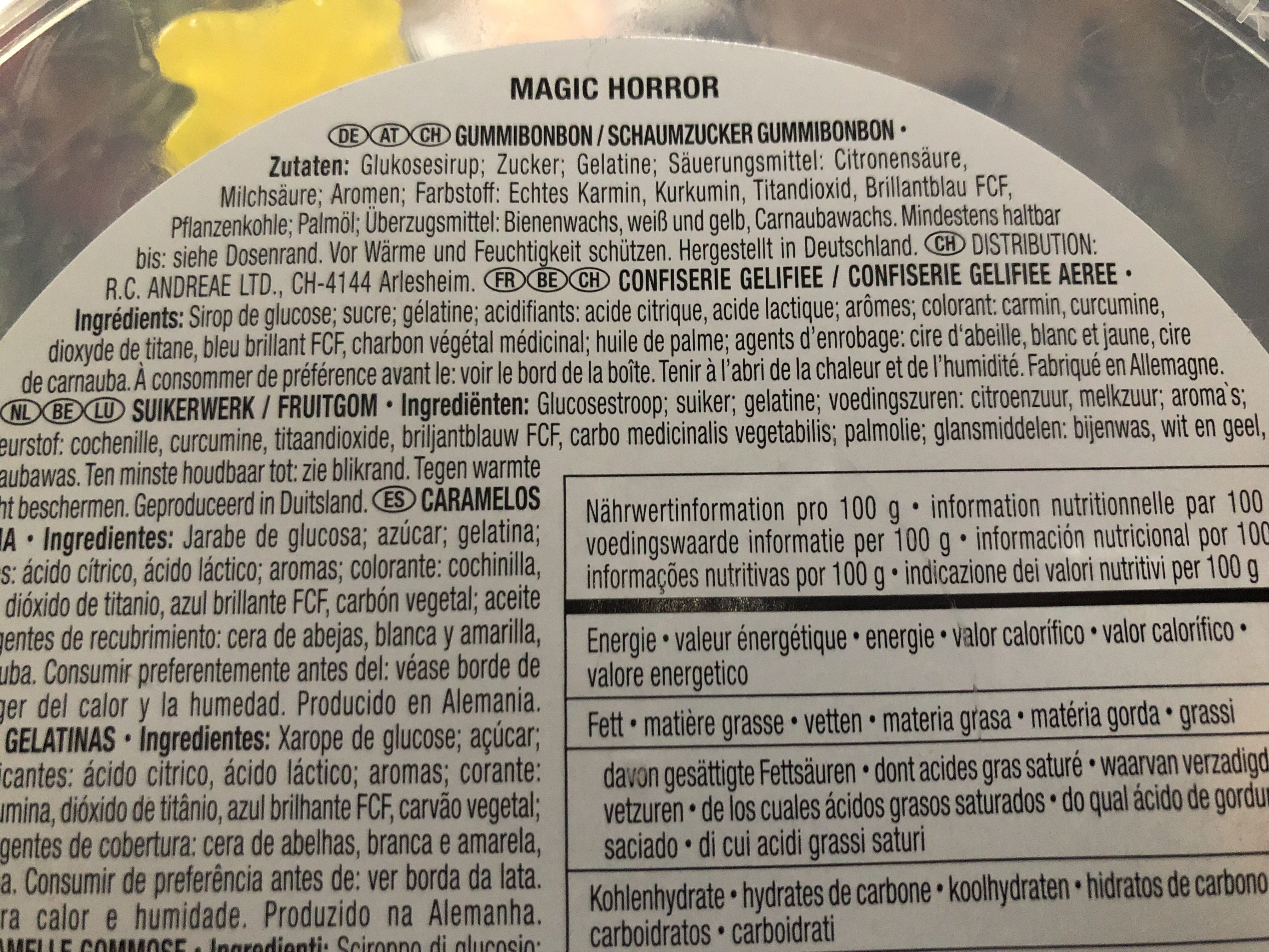 Magic Horror - Trolli - 1 kg e
