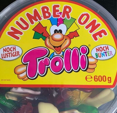Trolli No. 1 Bunte Fruchtgummi- Mischung - Prodotto - fr