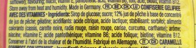 Pfirsichringe - Ingredients