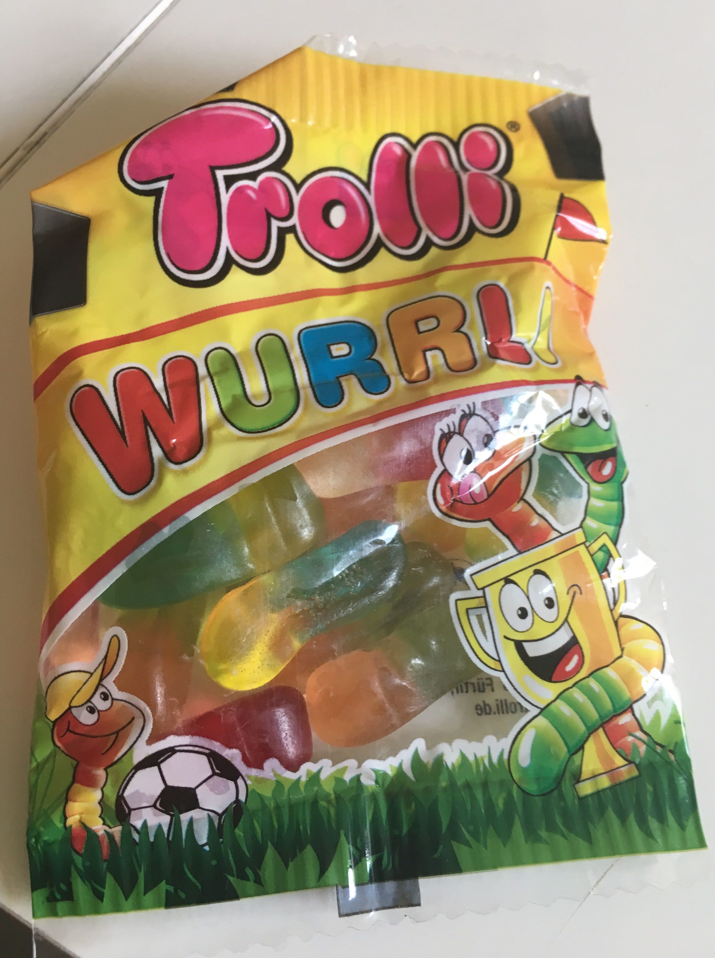 Trolli Wurrli - Product - en