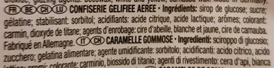 Dracula - Ingredientes - fr