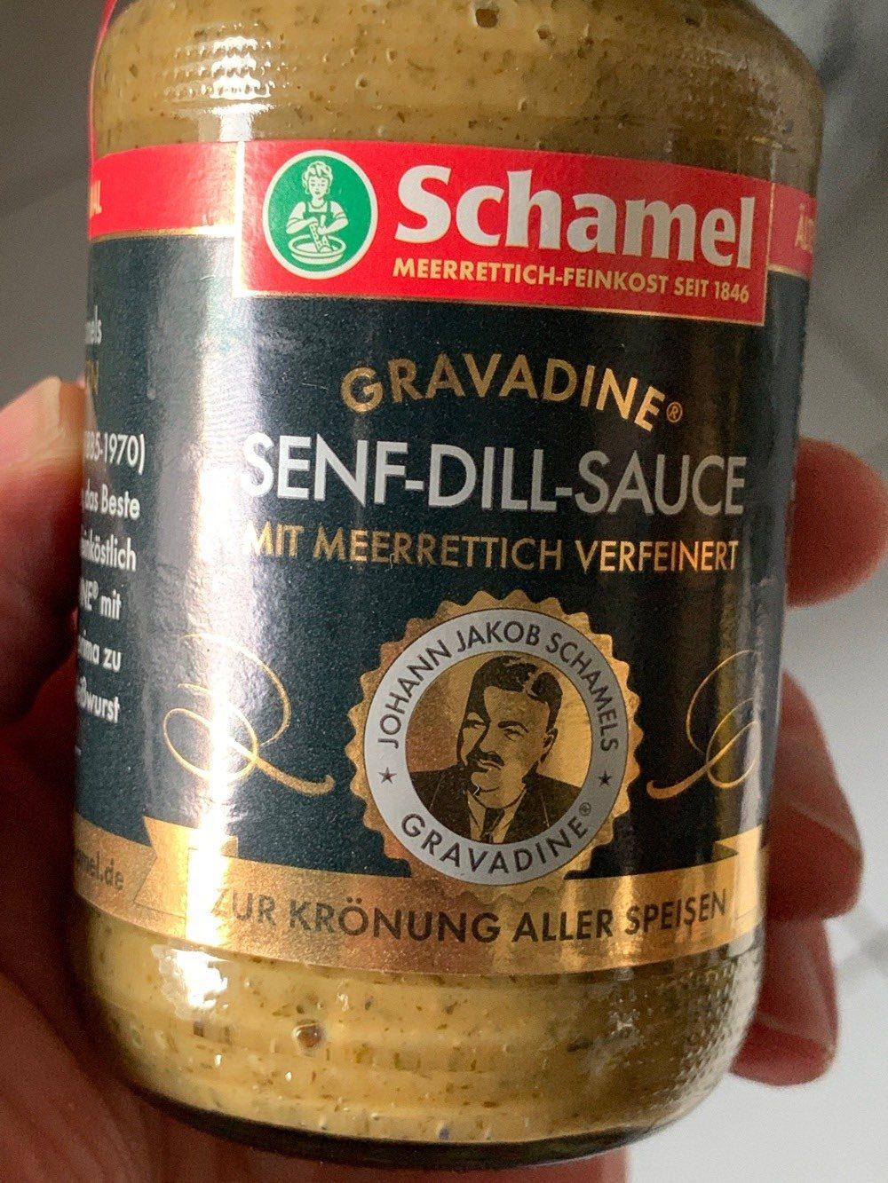 Gravadine senf-dill -sauce - Produit - de