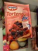 Roter Tortenguss fix gezuckert - Product