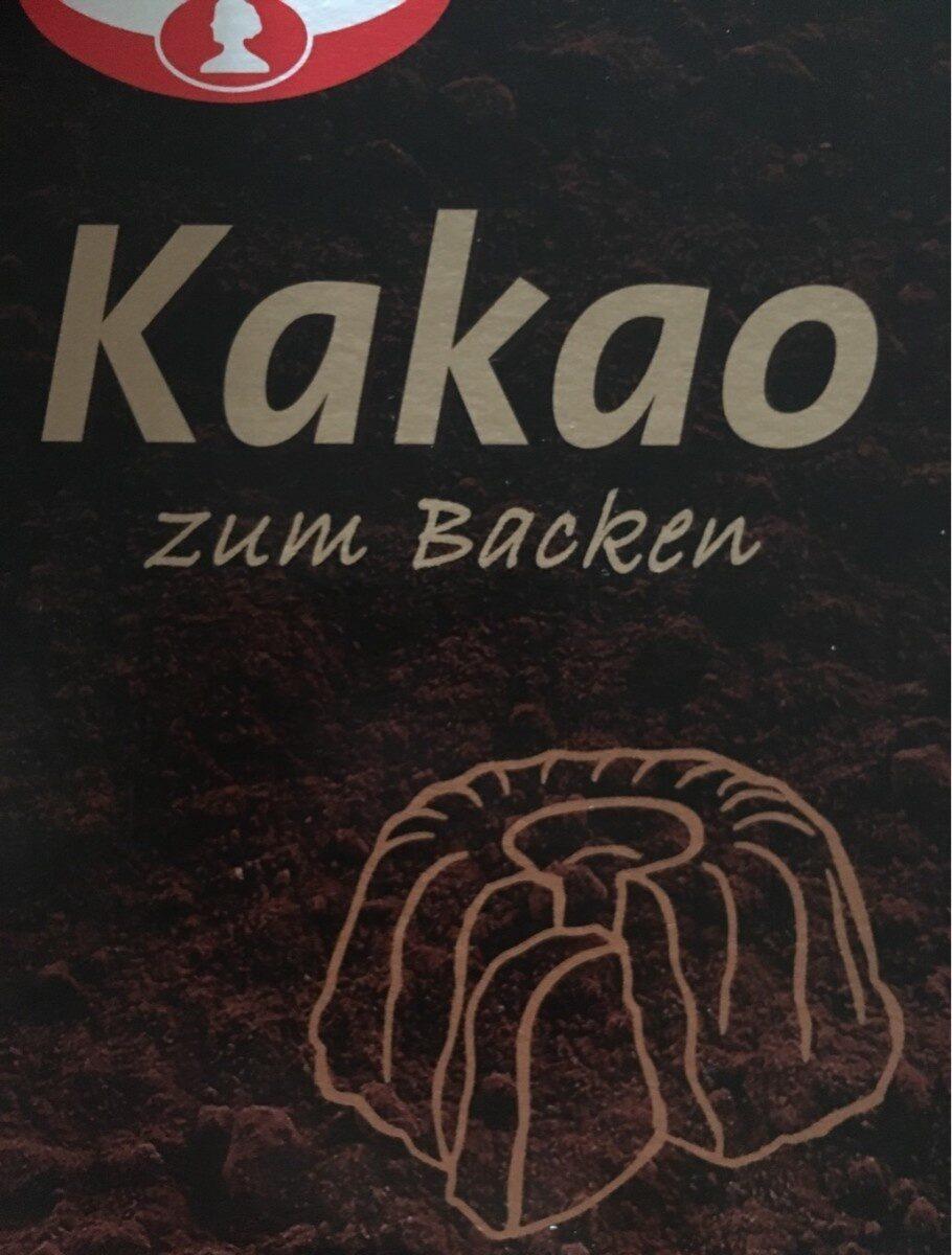 Kakao zum Backen - Prodotto - de