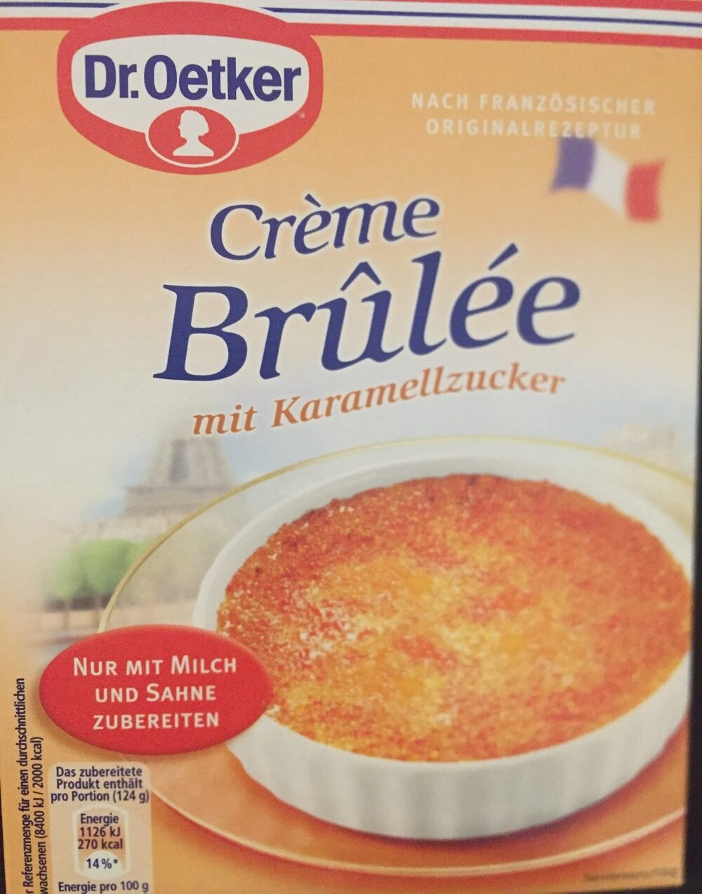 Creme Brulee - Product