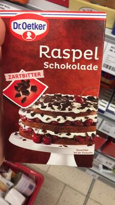Dr. Oetker Raspelschokolade Zartbitter - Produit
