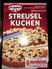 Streusel kuchen - Product