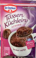 Tassen Küchlein Schoko - Product
