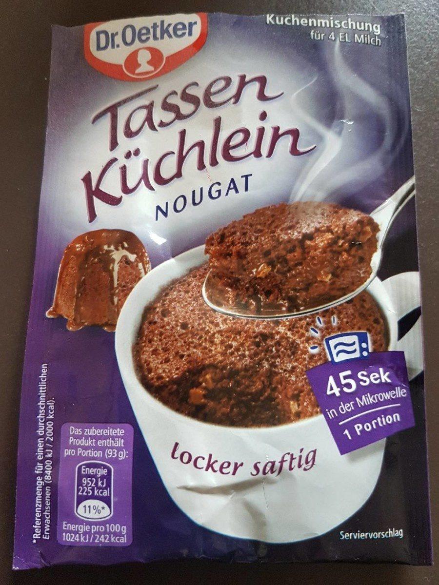 Tassen Küchlein Nougat - Product
