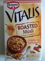 Vitalis Roasted Müsli Cranberry-kürbiskern - Product