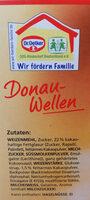 Donau-Welle - Zutaten - de