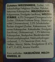Schoko Gewürzkranz - Ingrediënten - de