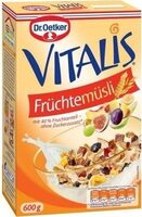 Vitalis Früchtemüsli - Produkt - de