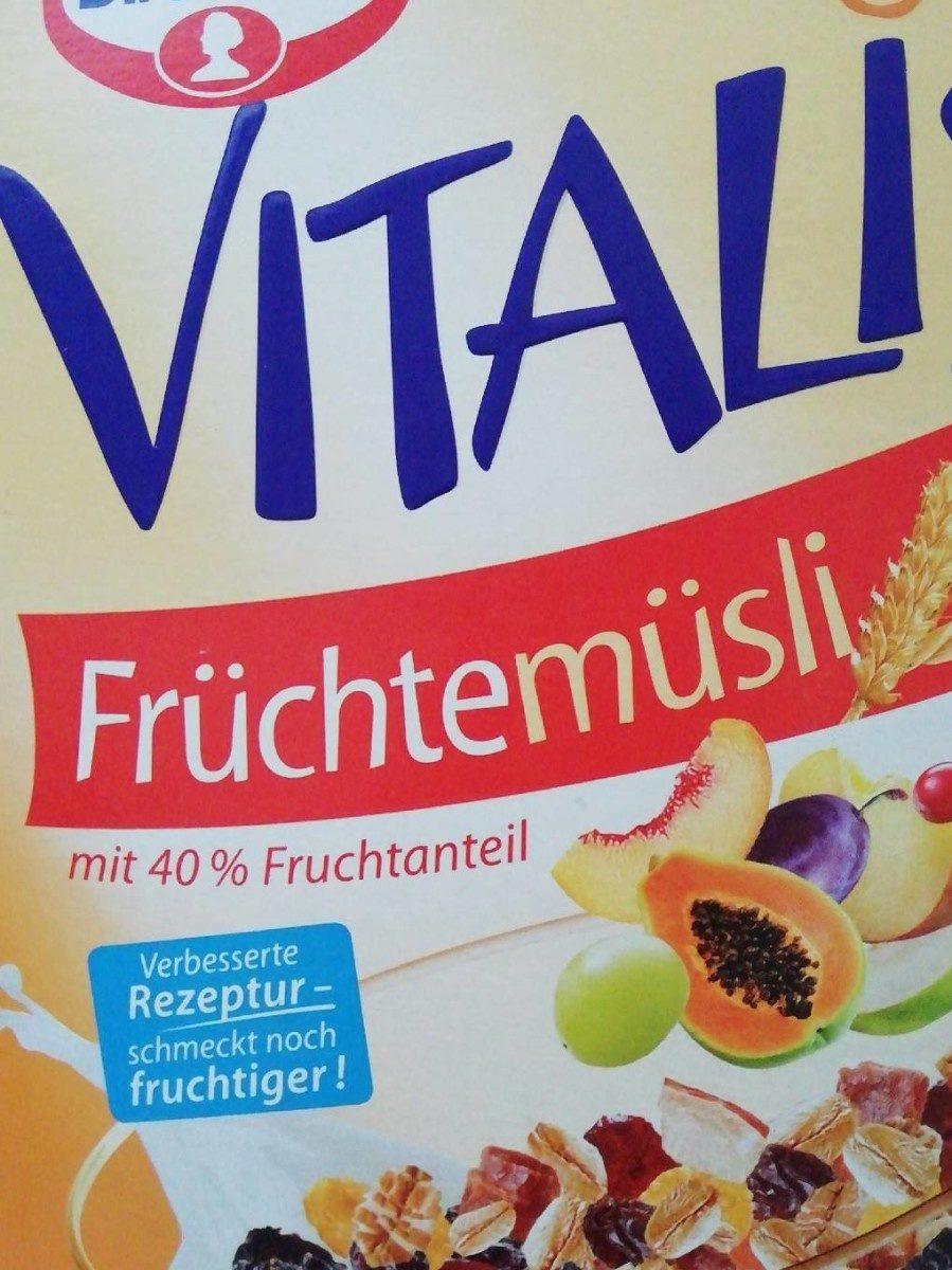 Vitalis Früchtemüsli - Product