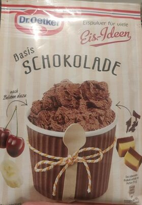 Pulver Schokoladeneis - Product - de