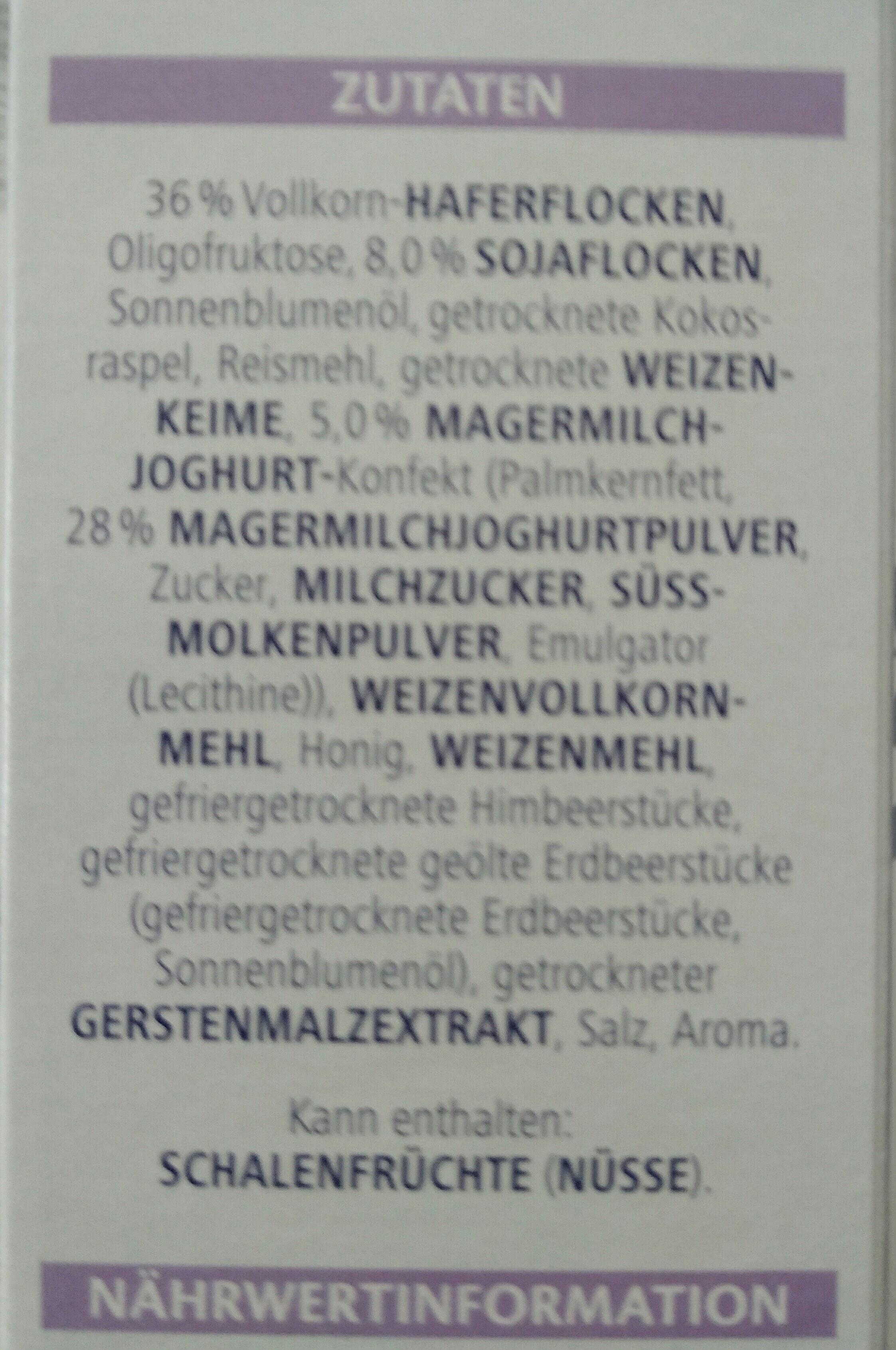 vitalis supermusli - Ingrediënten - de