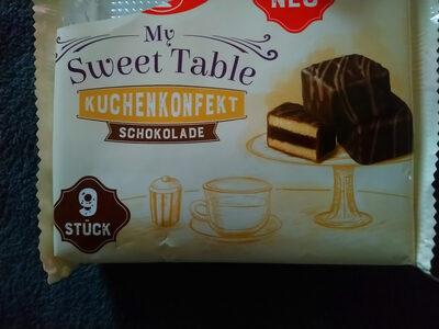 My Sweet Table Kuchenkonfekt Schokolade - Product - de
